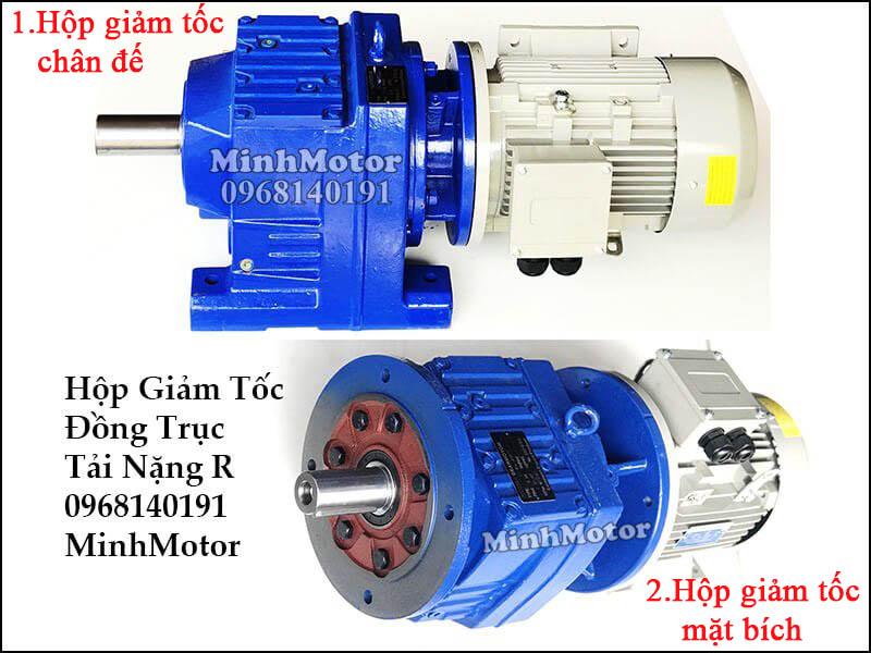 Motor SEW gắn hộp giảm tốc Sew trục thẳng