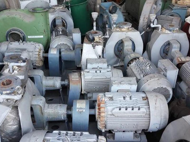 Một số motor giảm tốc cũ nhưng chất lượng còn tốt tới 90%