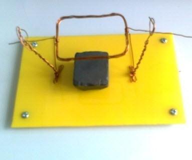 Lắp ráp động cơ điện tại nhà