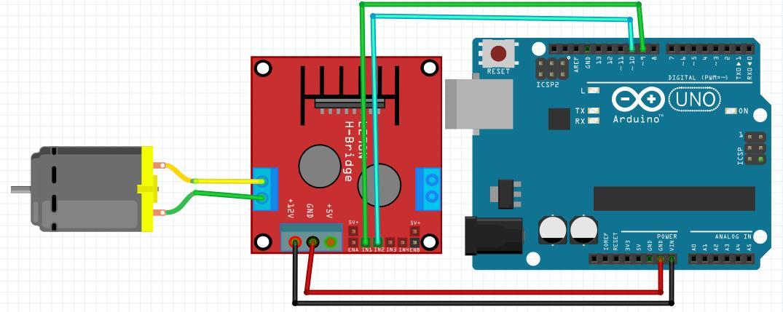Điều khiển động cơ DC bằng Arduino