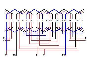 Sơ đồ cách quấn lại motor quạt điện đơn giản
