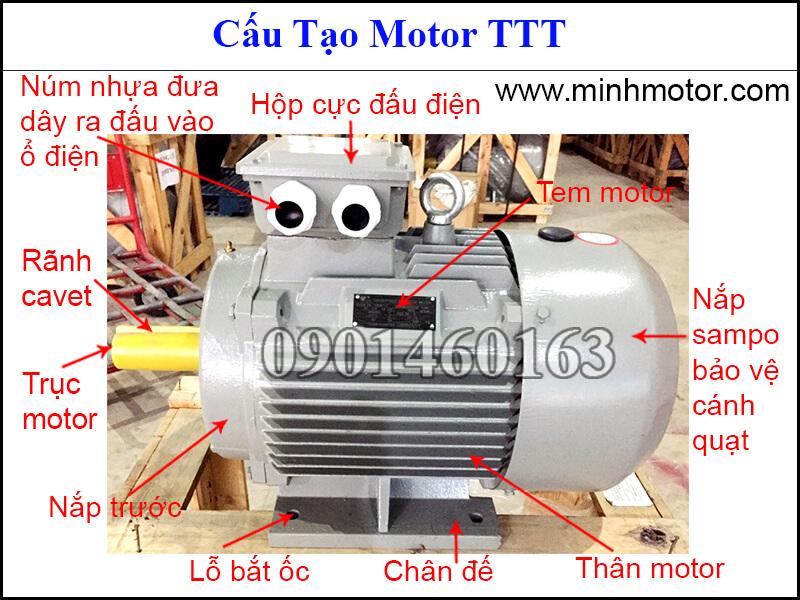 Cấu tạo motor TTT