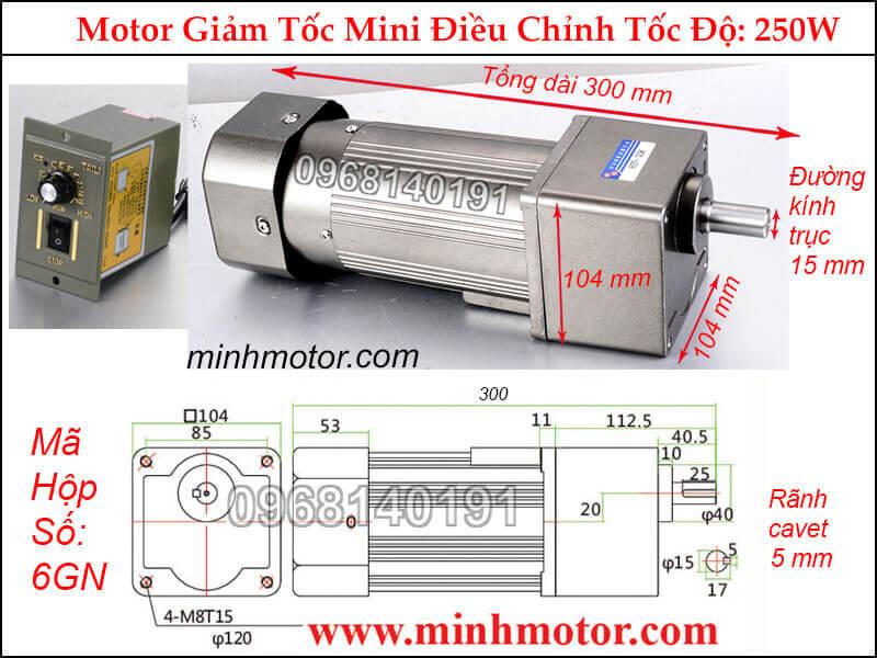 Bộ điều khiển tốc độ motor 1 pha mini