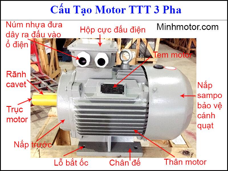 Review top các loại động cơ TTT thông dụng nhất