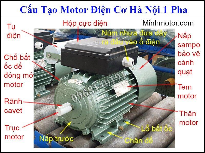 mô tơ điện cơ Hà Nội 1 pha