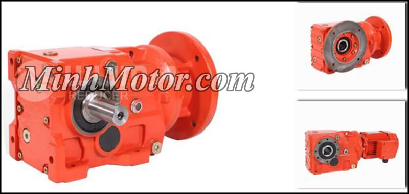 Motor giảm tốc WUMA bánh răng côn K