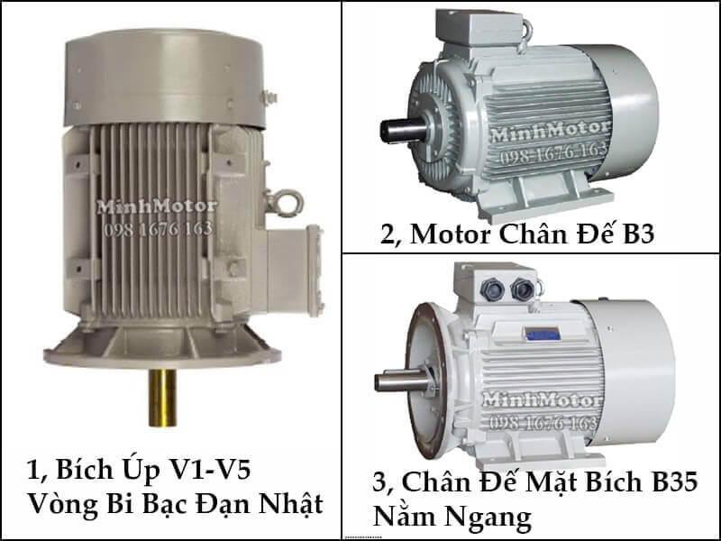 Motor điện Đài Loan Bích Úp V1
