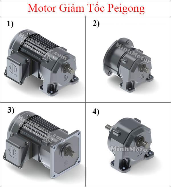 Motor giảm tốc Peigong tải trung