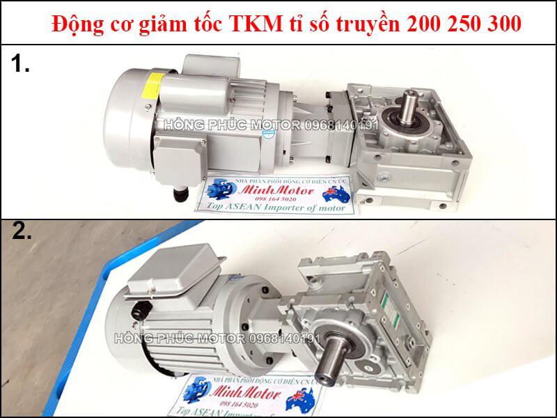 Hộp số giảm tốc ratio 150, 200, 250, 300 TKM