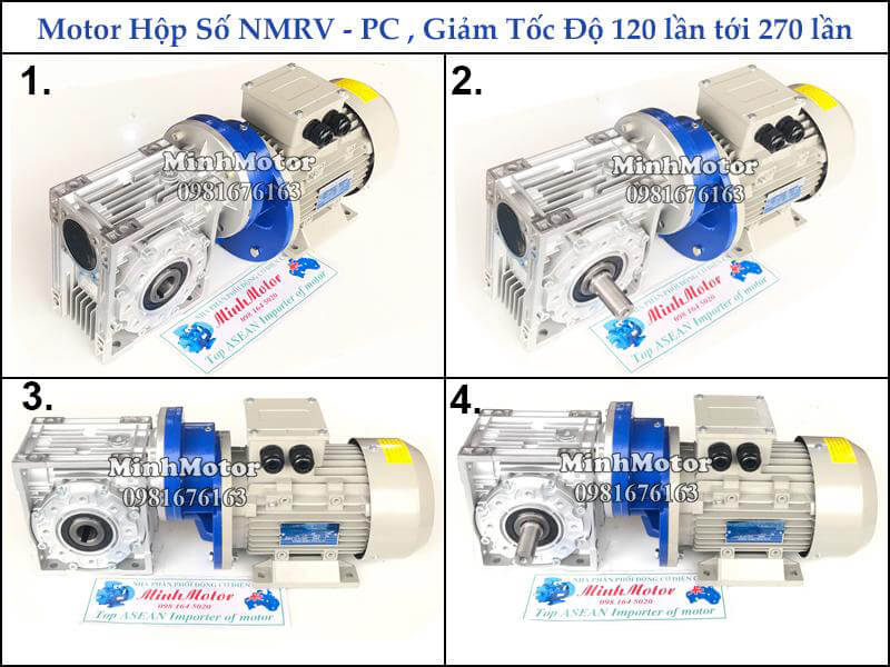 Hộp số NMRV + PC