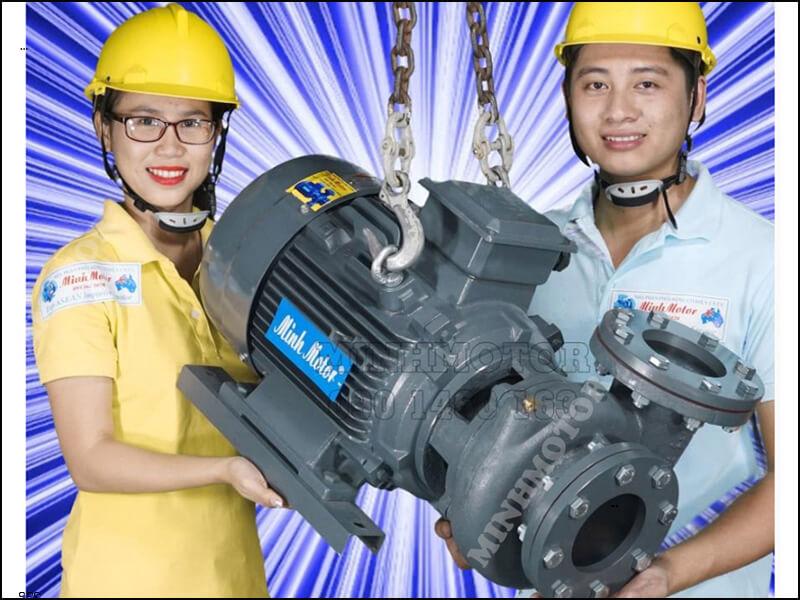 máy bơm nước teco 2.2kw 3hp động cơ 3 pha
