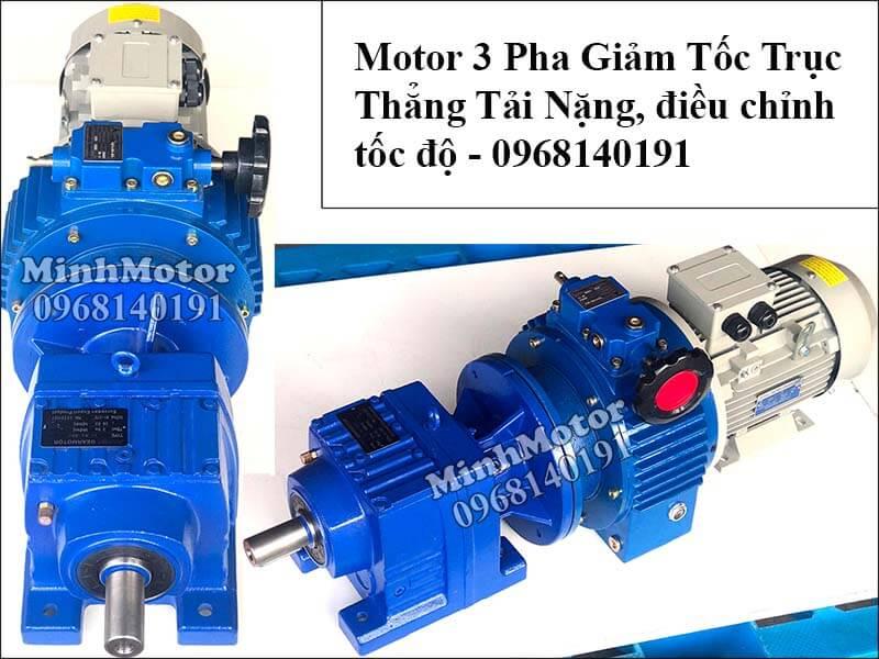 Motor điều tốc 3 pha 7.5Kw 10Hp trục thẳng R87