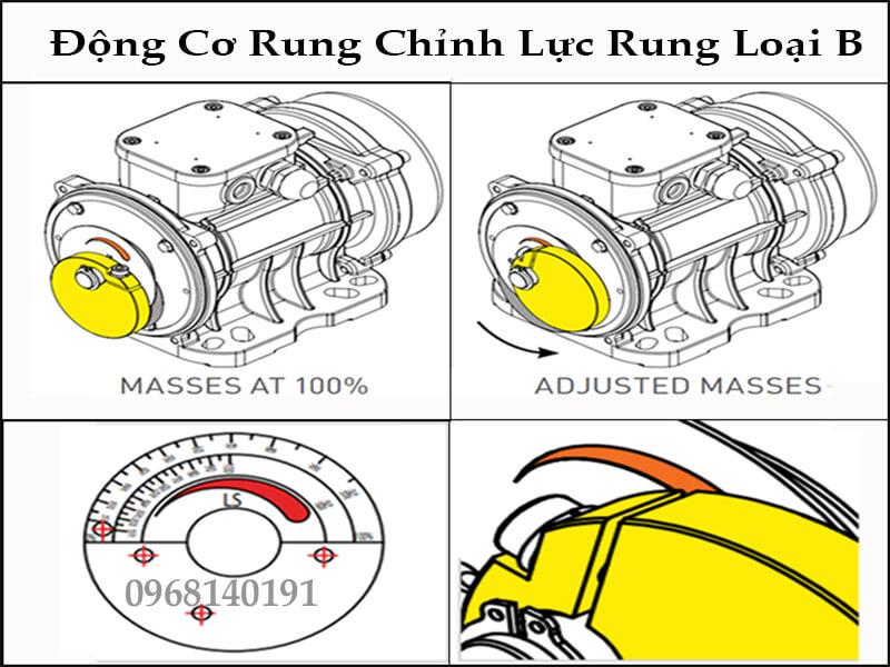 đầm rung 0.37kw CVM - 500/4
